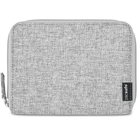 Pacsafe RFIDsafe LX150 Zippered Passport Wallet tweed grey